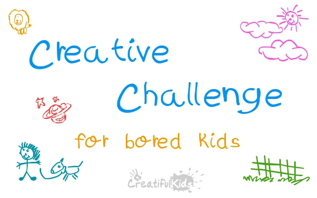 creative challenge for kids