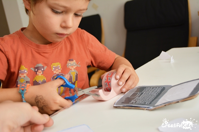 Hello Ruby Paper Laptop Crafts for Kids