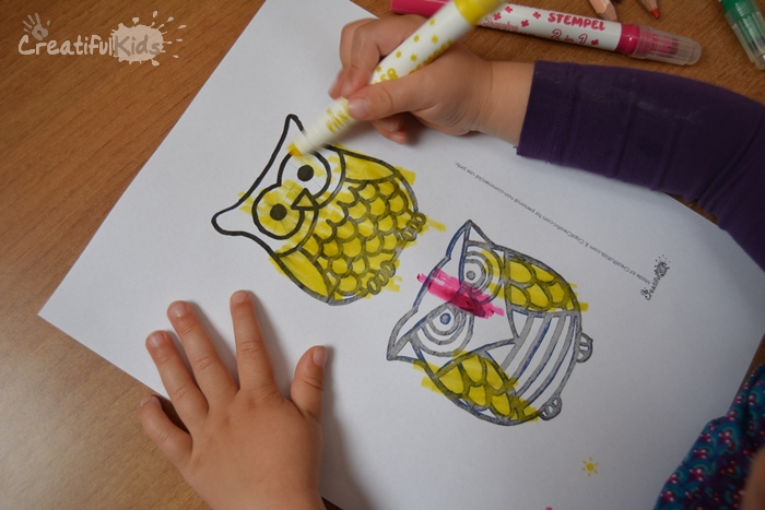 Free Owl Coloring Pages for Kids