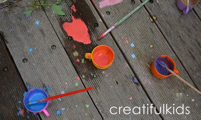 Kids crafts - outdoor kids activities