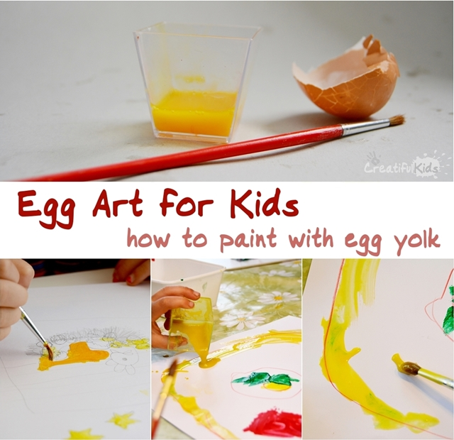egg art for kids - art ideas for kids