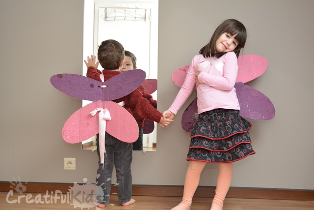 Cardboard Fairy Wings A Great Activity For Kids Outnumbered
