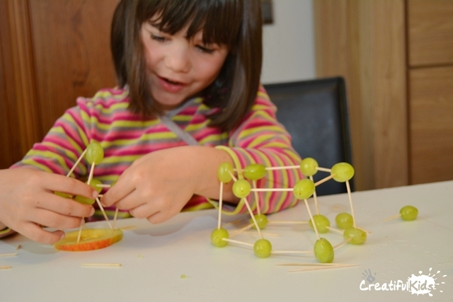 Building With Toothpicks- Healthy and Fun Construction For Kids