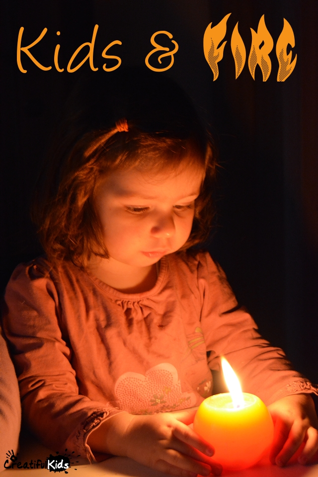 kids playing with fire- Should children play with fire?