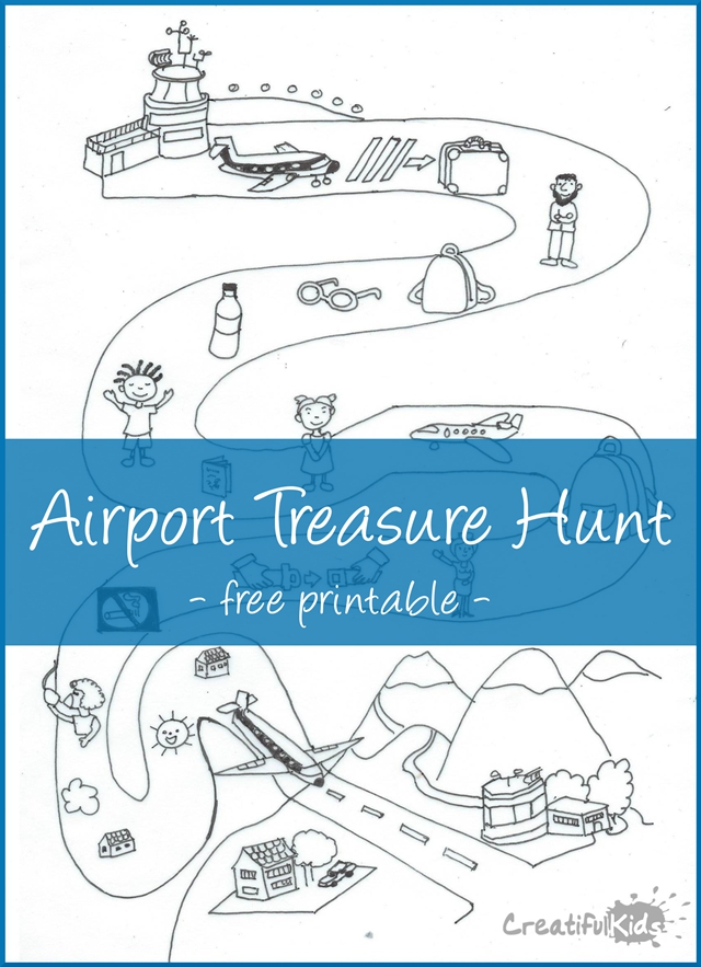 Travel with kids - airport game